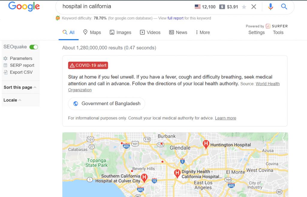 place based keyword