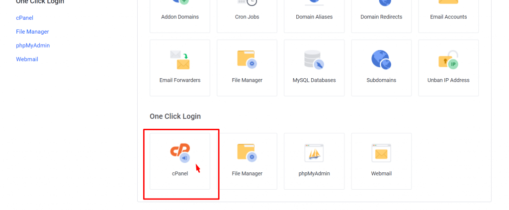 How to find out cPanel from web hosting server